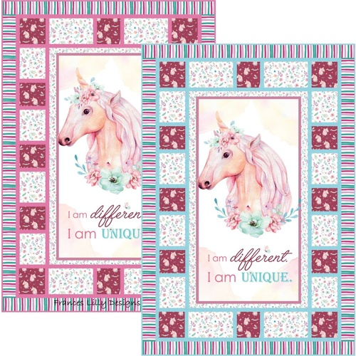 Simply Magic Unique Light Unicorn PATTERN ONLY