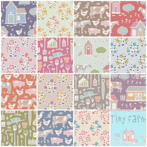 Tilda Tiny Farm Country 1m Bundle