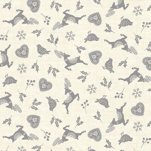Scandi 2020 Christmas Scatter Grey 2220 S