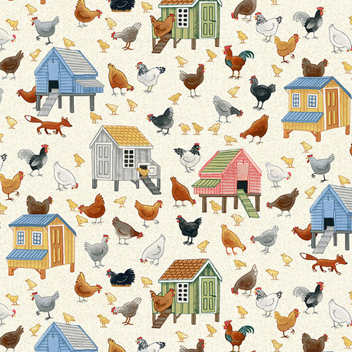 Village Life Country Chickens 2294-1