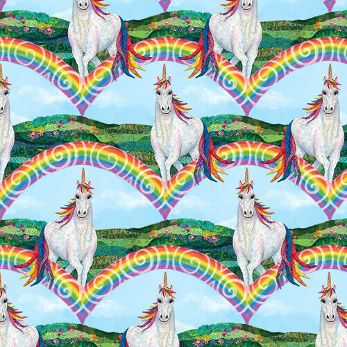 Unicorn-O-Copia Unicorns Rainbows  9889 70
