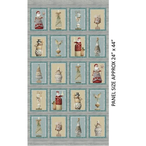 River's End Christmas Quilt Wall Panel