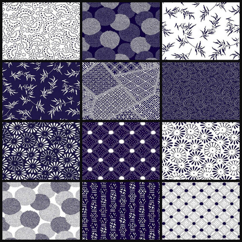 Flair Japanese Oriental Floral 1/2m Bundle