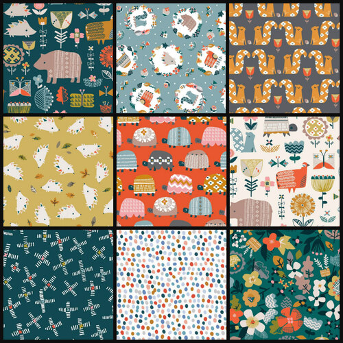 Dashwood Hibernate Animals 1/2m Bundle