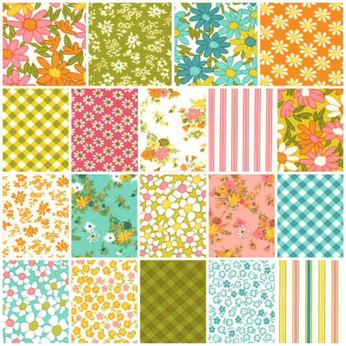 A Blooming Bunch Groovy Floral FQ Bundle