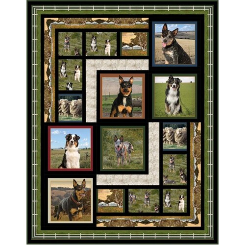 Merino Muster Australian Keeping Watch Quilt Kit