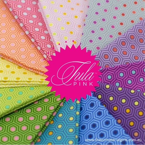 Tula Pink True Colours Hexy Fabric Bundle