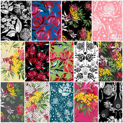 Botanicum Bliss Wildflowers Fat Quarter Bundle