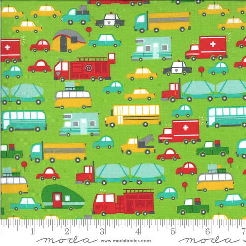 Moda On The Go Beep Transport Green 20721 14