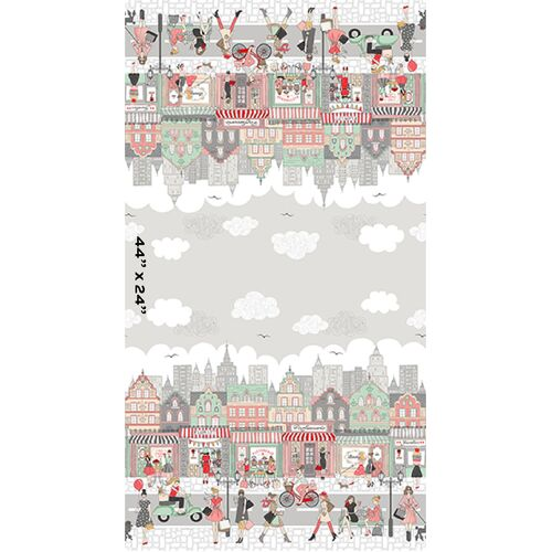 "Pamper Double Border Print 24"" 2317"