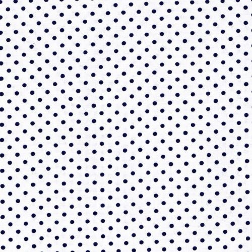 Mini Spots Navy White